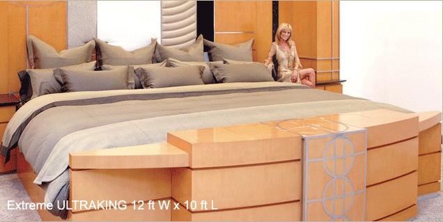 Cama grande para el dormitorio for Cama grand king