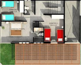 Planos De Casas De 2 Pisos Y Terraza En 3er Piso Planos De