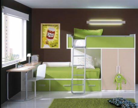 Dormitorios juveniles e infantiles bu for Alcobas juveniles modernas