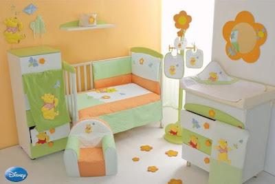 Dormitorios winnie the pooh by for Decoracion de recamaras para ninas
