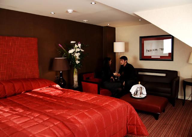Dormitorios rojos for Recamaras color vino
