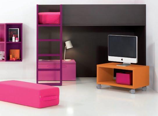 Dormitorios infantiles minimalistas recamaras minimalistas for Recamaras para ninos espacios pequenos