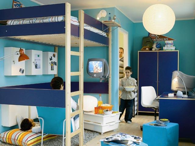 Dormitorio juvenil - Dormitorios con poco espacio ...