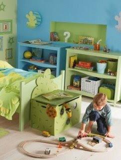 Los pies de camas infantiles tambien tienen que ser - Baul para guardar juguetes ...