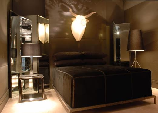 Dormitorio para hombre recamara para hombre de flavio for Como decorar tu cuarto de hombre