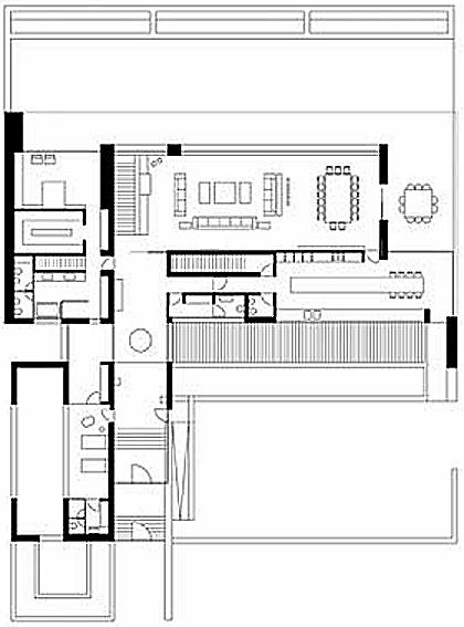 Plano De Casa Unifamiliar 2 Plantas Grandes Planos De