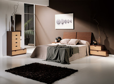 Estos bellos dormitorios tienen en com n el fondo o for Dormitorio oscuro