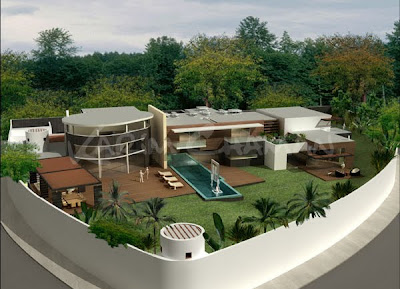 Decoracion de fachadas de casas edificios y otras for Fachadas de casas modernas en lima