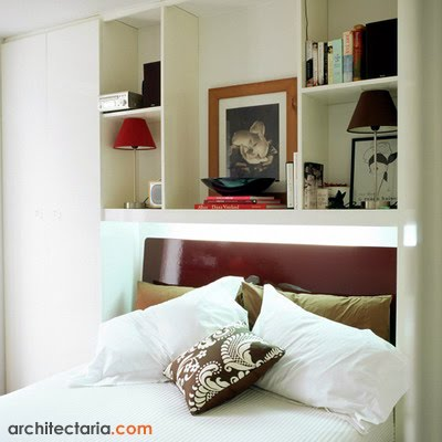 Dormitorios muy peque os como decorar una habitacion muy for Dormitorio para 4 personas