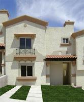 Plano de vivienda de 2 plantas con cochera patio y 3 for Casas modernas 120m2