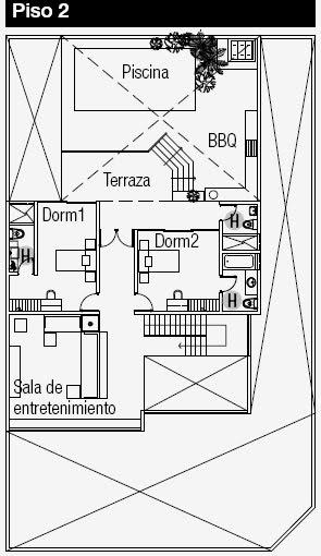Planos De Casa En Esquina Planos De Casas Gratis Y