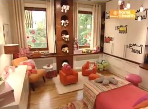 Video que muestra un bello dormitorio infantil para ni a for Programa decoracion habitaciones