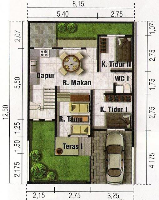 Planos de casa minimalista de 2 pisos en terreno de 100 m2 for Casa minimalista 80 metros