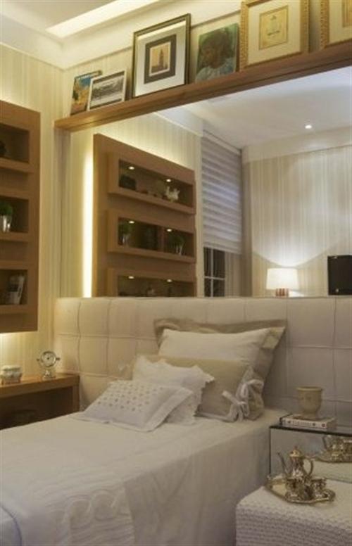 Ideas para dormitorios angostos o muy estrechos for Espejos enteros para habitaciones