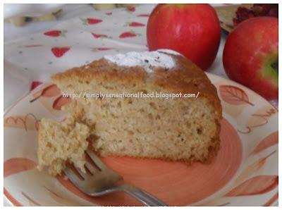 Grated Apple Cake