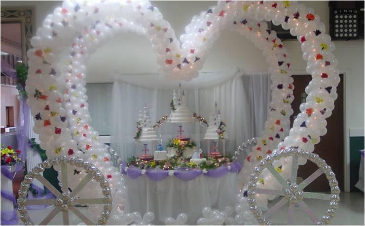 Decoracion con globos para boda - Decoracion bodas con globos ...