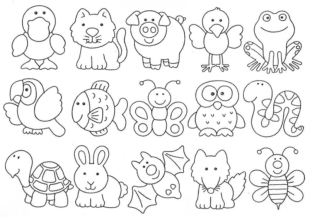 Tarefas Blog Animais Da Fazenda Desenhos Para Colorir