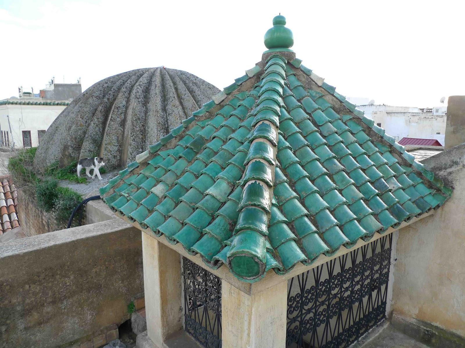 Tile Roof: Green Tile Roof Houses