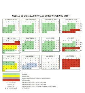 Uah Calendario Academico.Deccafd Uah Cambio Del Calendario Academico 2