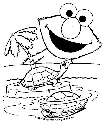 Elmo valentine coloring pages for Elmo valentine coloring pages