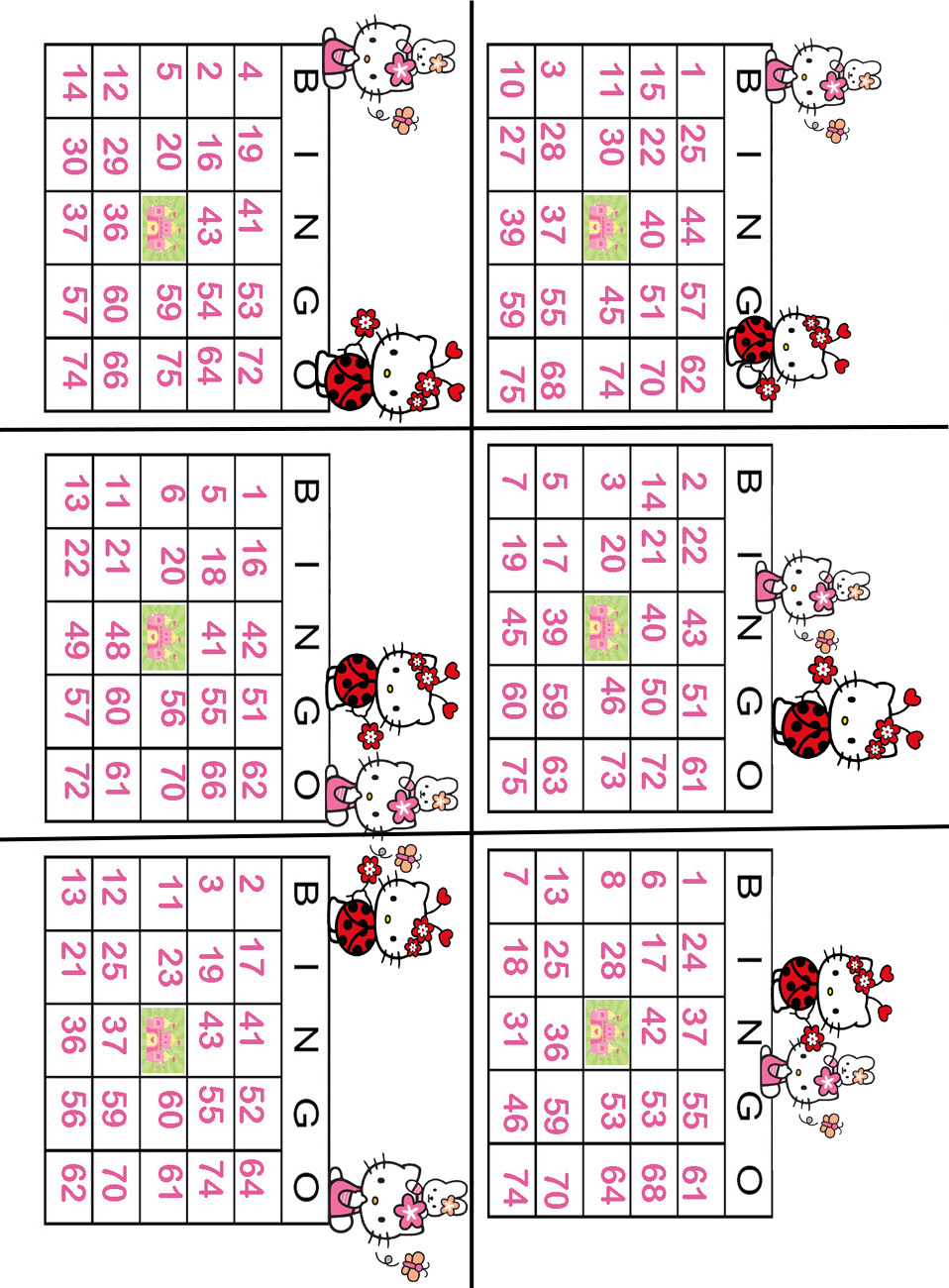 Kitty bingo games