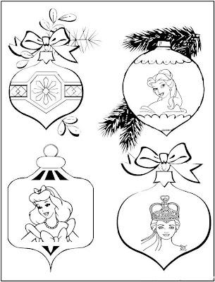 christmas coloring pages princess-#22