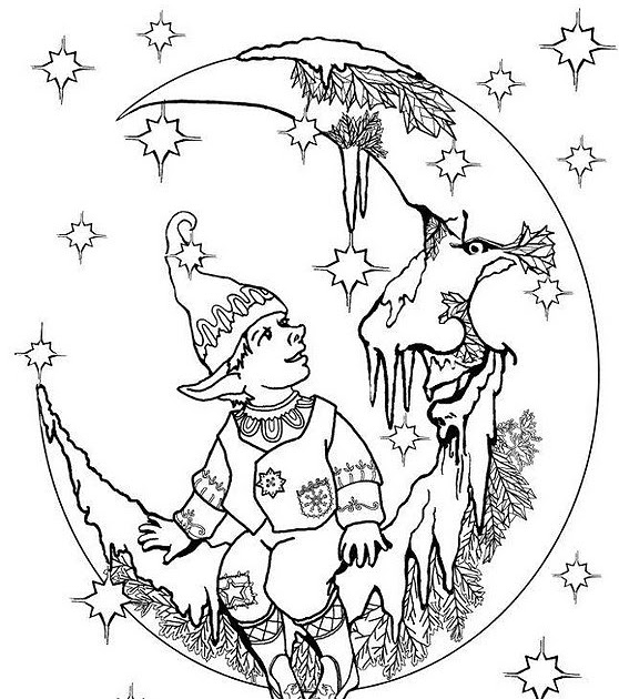 Easter Coloring Pages: Fairy Coloring Pages