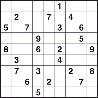 image relating to Sudoku Printable Hard called printable straightforward sudoku: Printable Medium Sudoku
