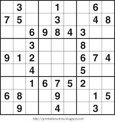 Free sodoku s Puzzle