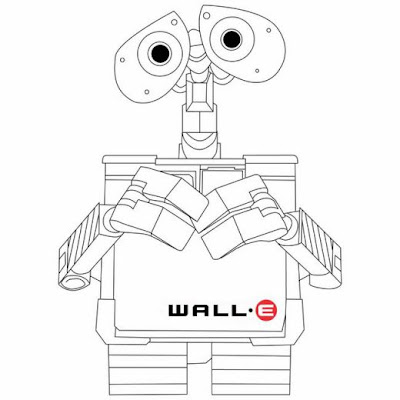 wall e coloring pages online | DISNEY COLORING PAGES