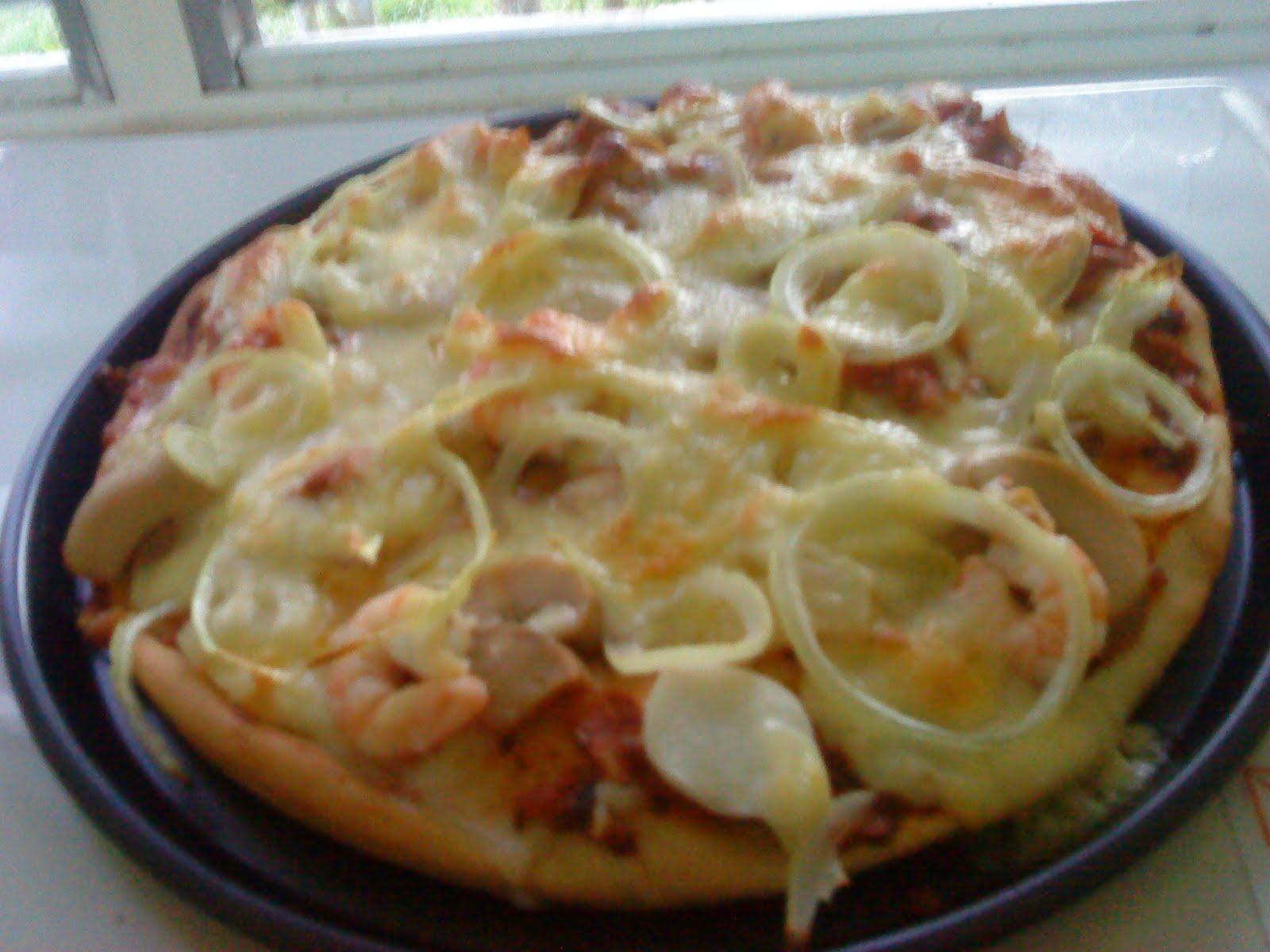 resepi pizza pasar malam enak  mudah resepi pemakanan Resepi Ayam Panggang Madu Pasar Malam Enak dan Mudah