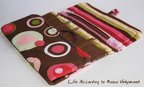 How to: Make an interchangeable knitting needle case ...