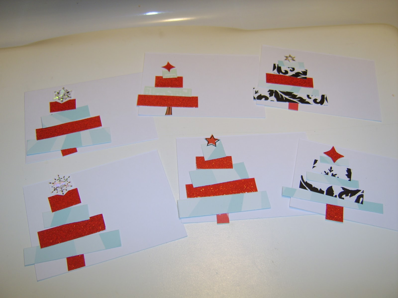 Recycled Christmas Cards = Cute Gift/Treat Tags