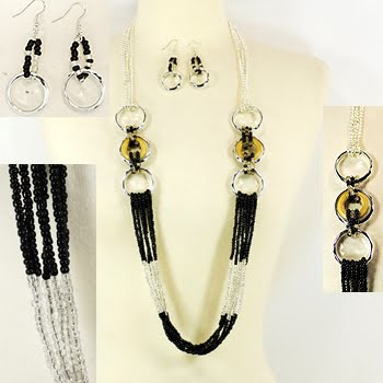 Black And White Fashion Jewellery Photos