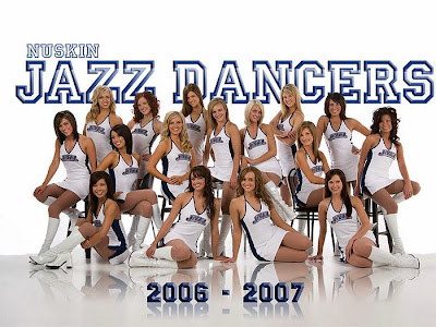Jazz Dancers NBA