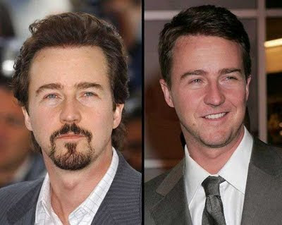 Celebs with Beard and Without, hollywood celebrity,
