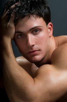 Philip Fusco: Male Underwear Model in Tight Briefs
