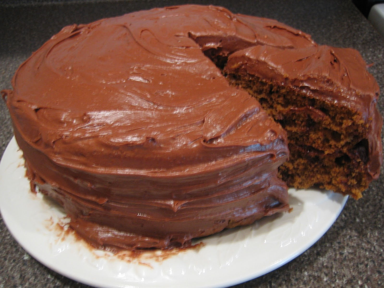 Easy Homemade Chocolate Cake Recipe And The Best: Semi-Homemade Chocolate Pumpkin Cake With The Most Amazing