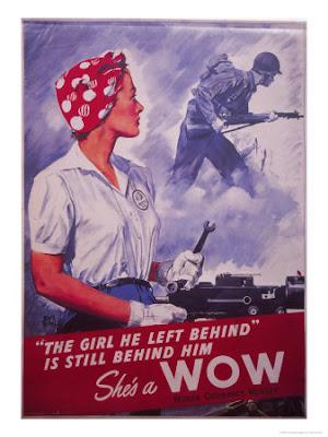 Vintage Scientist Women Wwii Propaganda