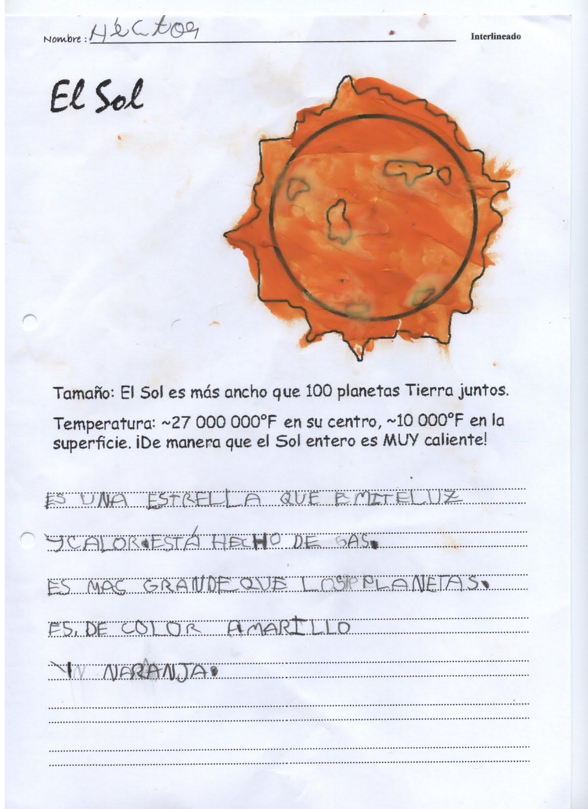 INFANTIL TAMBIÉN LEE: EL SISTEMA SOLAR Y SUS PLANETAS
