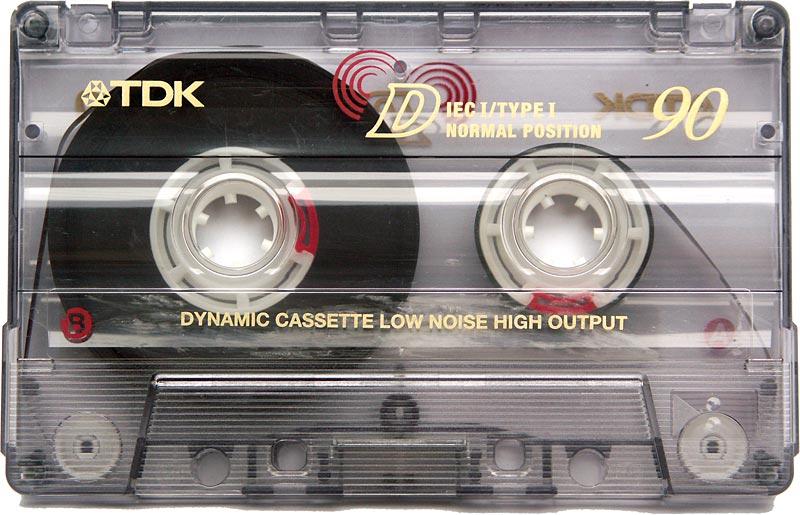 TDK cassette  musica electronica Madrid