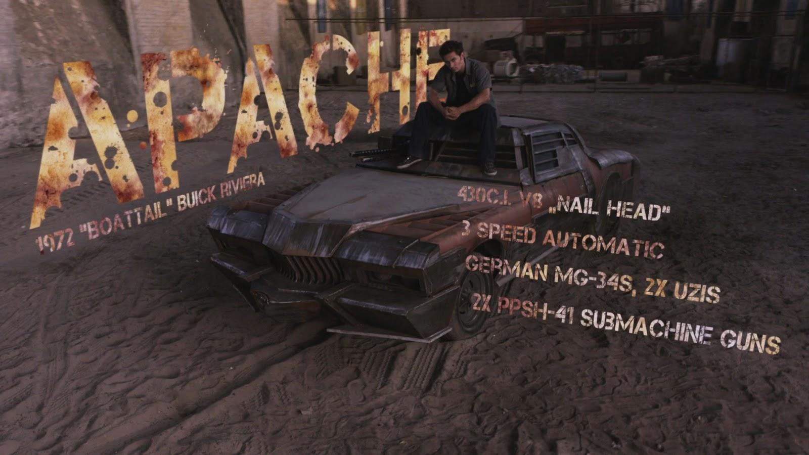 Wallpaper: Death Race 2 Apache