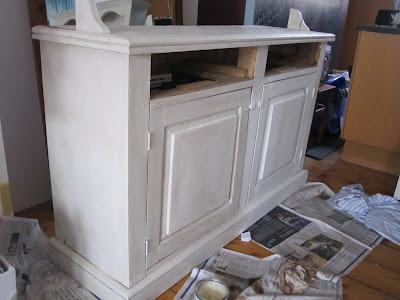 Kitchen Dresser Painting Ideas