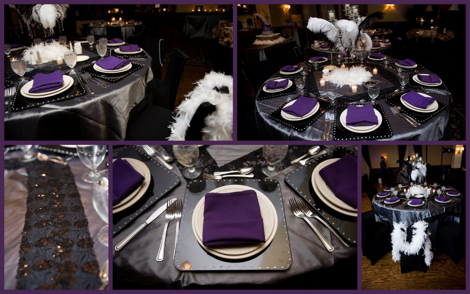 Matt Says He Prefers Ivory Or Cream As The Base Color With Dark Purple Accents That Could Be Really Pretty Heather S Wedding Pinterest