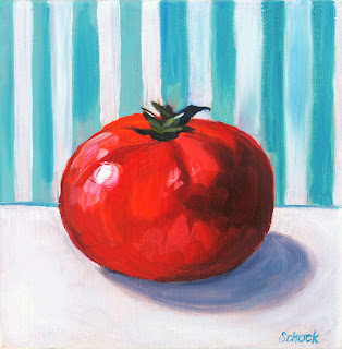 juicy tomato painting