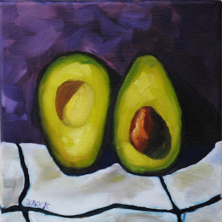 avocado oil painting