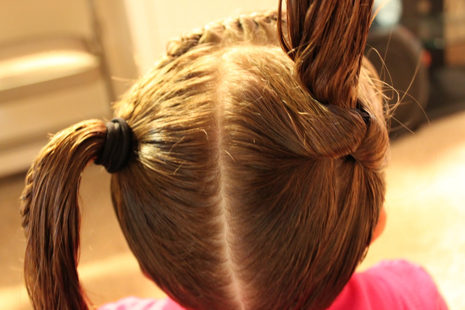 Hairstyles for Girls The Wright Hair: Front French Braid