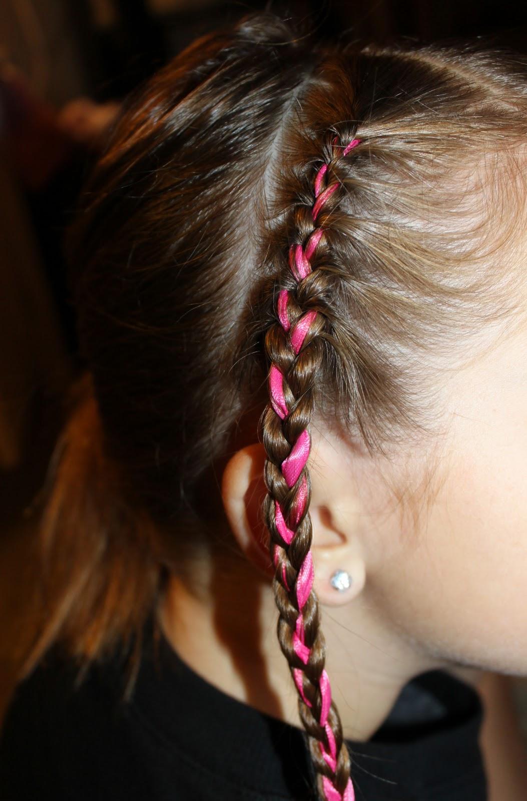 Outstanding Hairstyles For Girls The Wright Hair Ribbon Braids Headband Short Hairstyles For Black Women Fulllsitofus