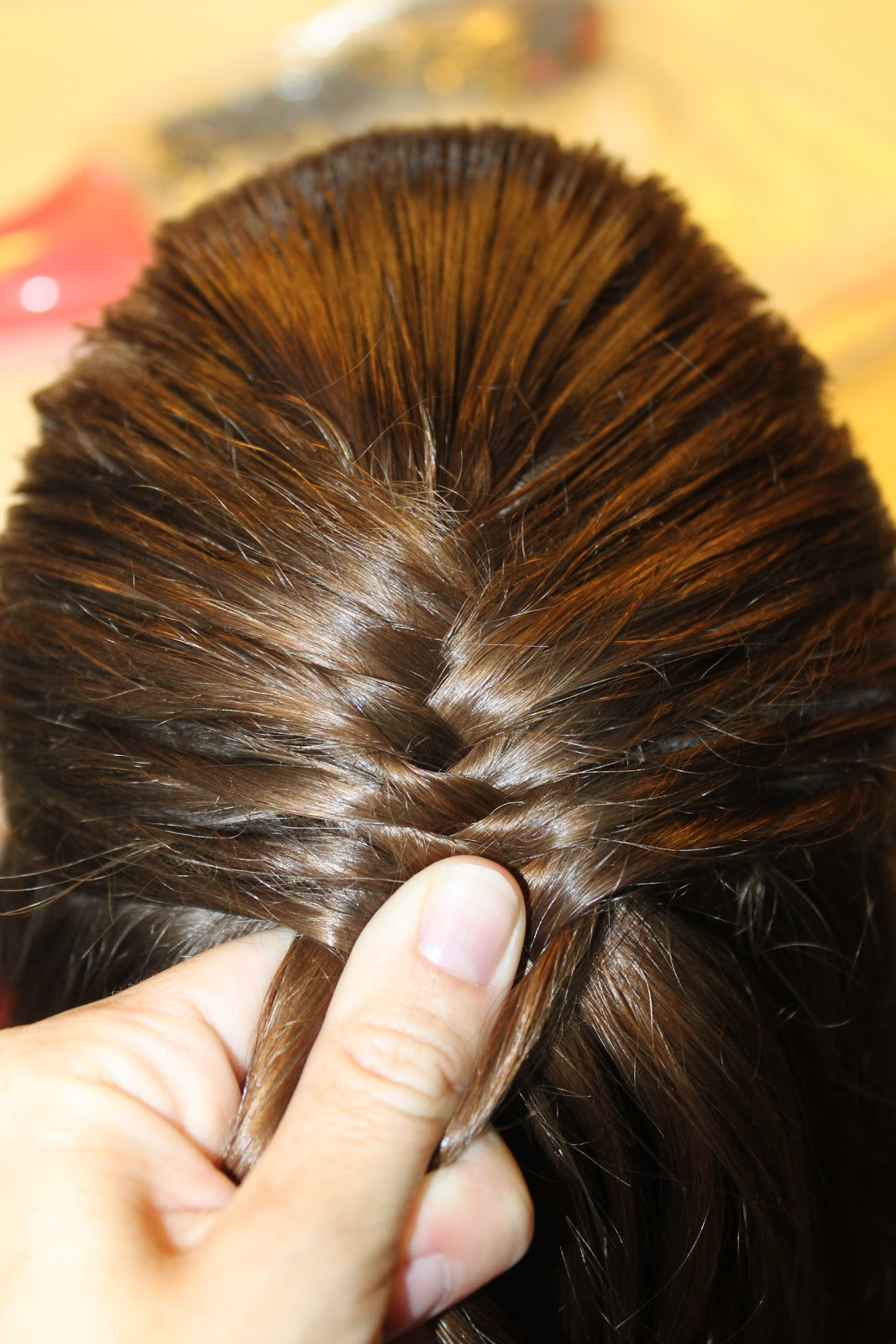 Hairstyles for Girls.. The Wright Hair: 1/2 Fish Tail Braid