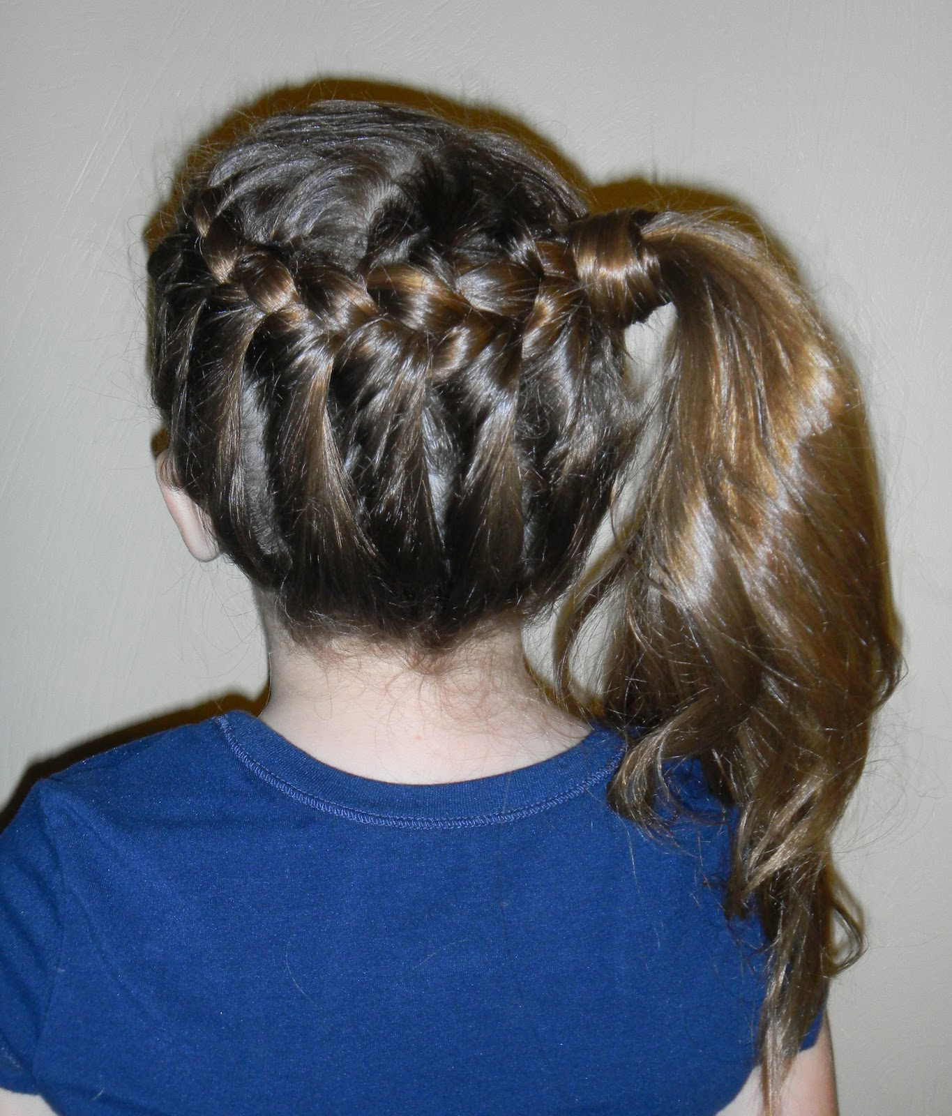 Hairstyles for Girls.. The Wright Hair: Braid to Side Ponytail